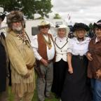 Kidderminster Shuttle: Visitors dressing up to enjoy the Country and Western Festival in Stourport in 2014