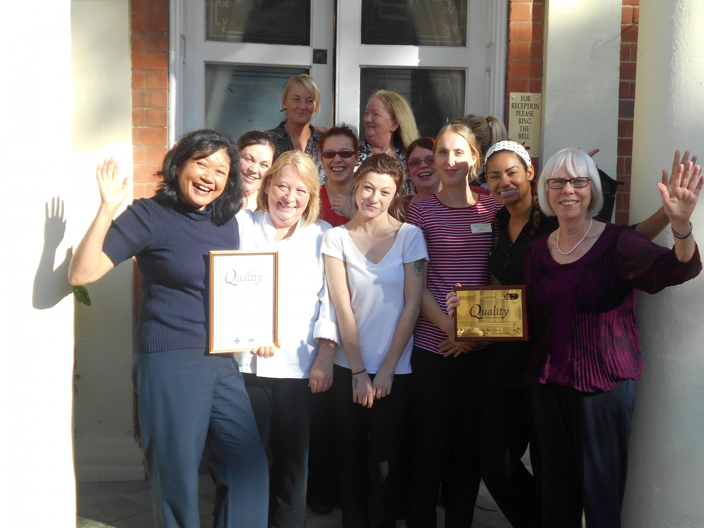 Bewdley Care Home Wins Major National Recognition From Kidderminster Shuttle