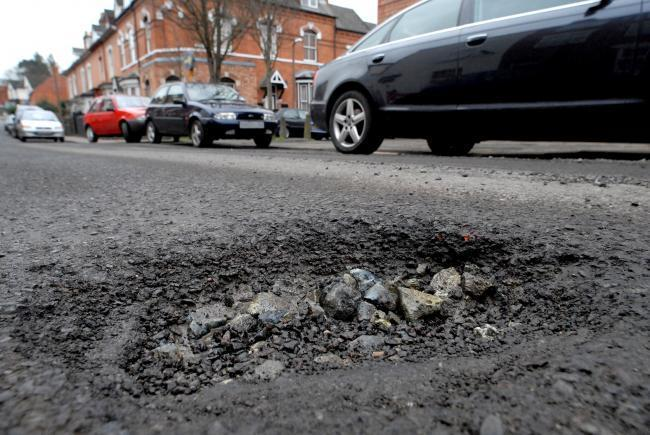 Worcestershire's pothole fury: council pays out £58,000 in road