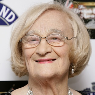 Liz Smith pictured at the 2007 British Comedy Awards