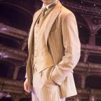 Kidderminster Shuttle: Darius Campbell in Funny Girl. Picture by Johan Persson