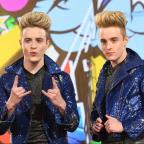 Kidderminster Shuttle: Jedward offer flawless logic for why the CBB toilet is a mess...then get back to eating a strawberry