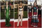 Worst dressed alert: which stars got it wrong at the SAG Awards?