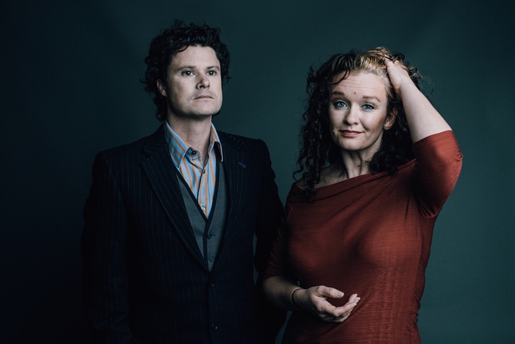 Kathryn Roberts and Sean Lakeman at Courtyard Theatre Hereford