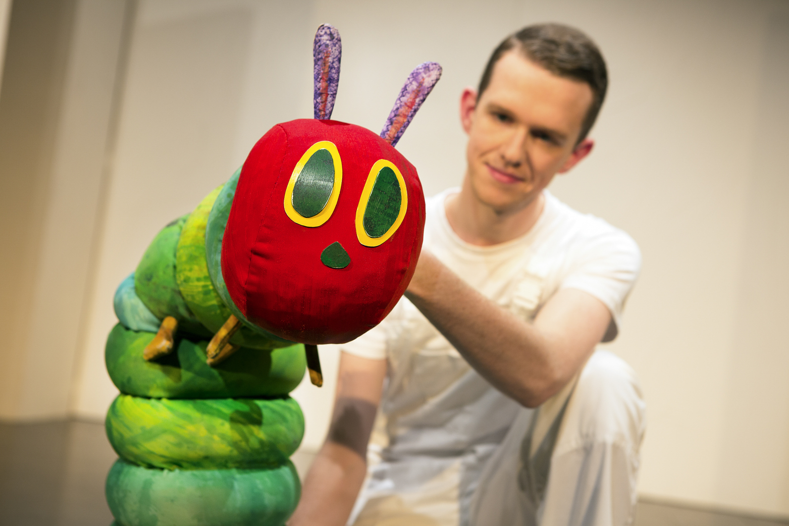 The Very Hungry Caterpillar Show comes to Stourport this month. Picture by: Pamela Raith Photography
