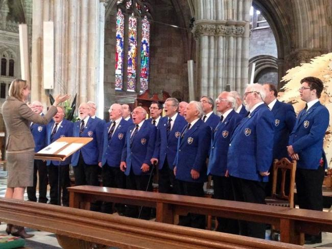 Cradley Heath Male Voice Choir will feature at Sunfield special school's charity concert