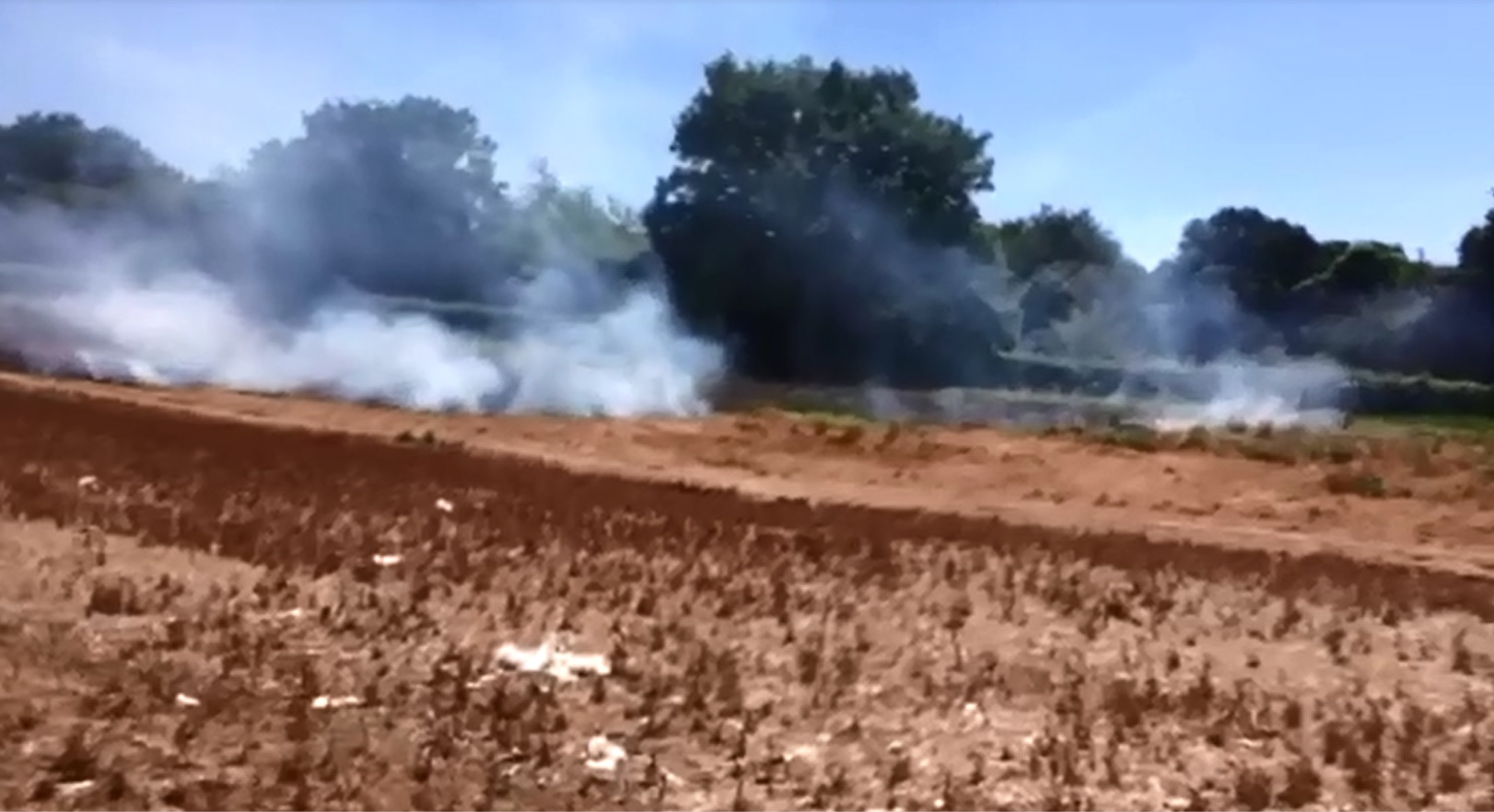 VIDEO: Fields on fire in Pedmore
