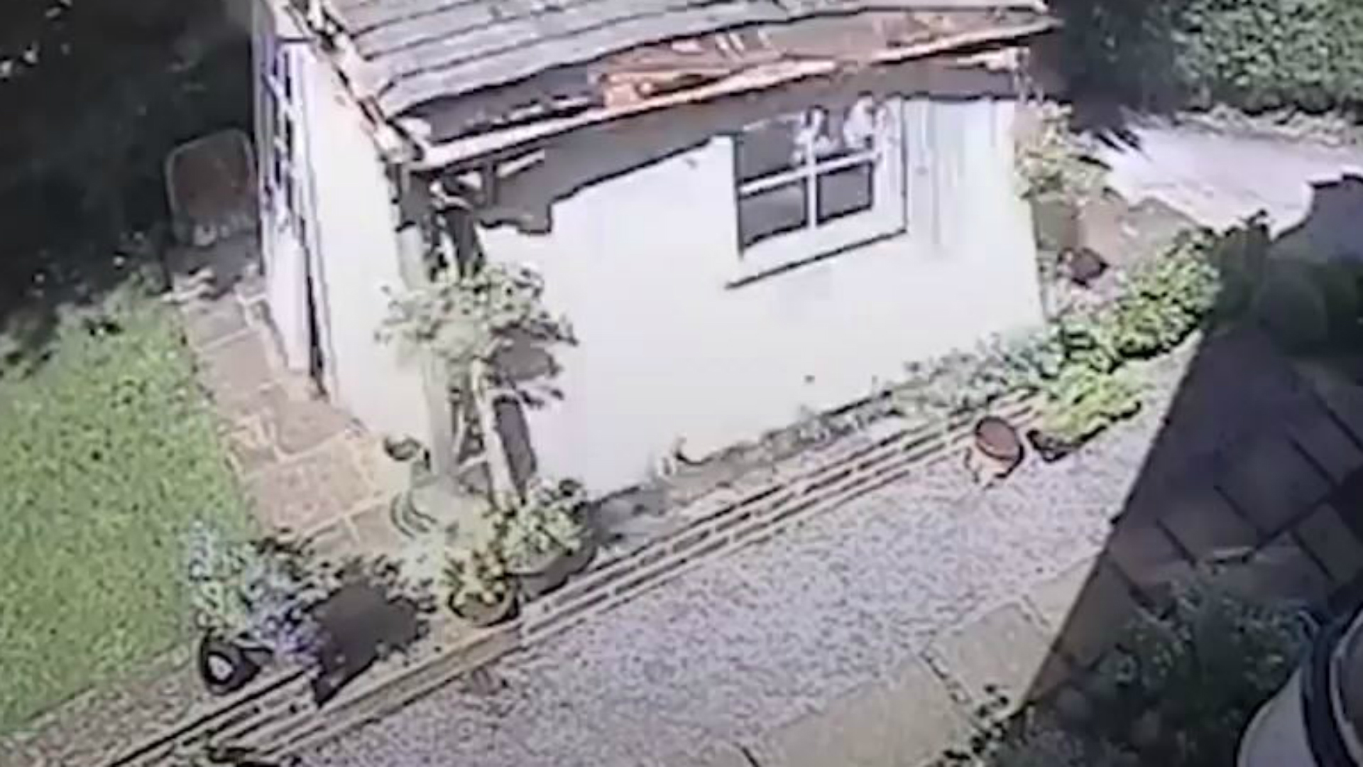 In Video Explosion Destroys Garden Shed From Kidderminster Shuttle
