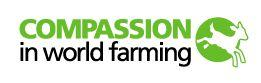 Animal welfare organisation Compassion in World Farming created the map
