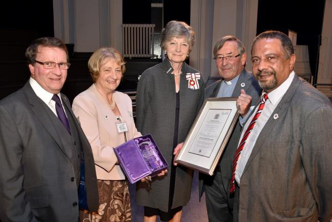 Royal recognition for Kidderminster prostate cancer awareness group