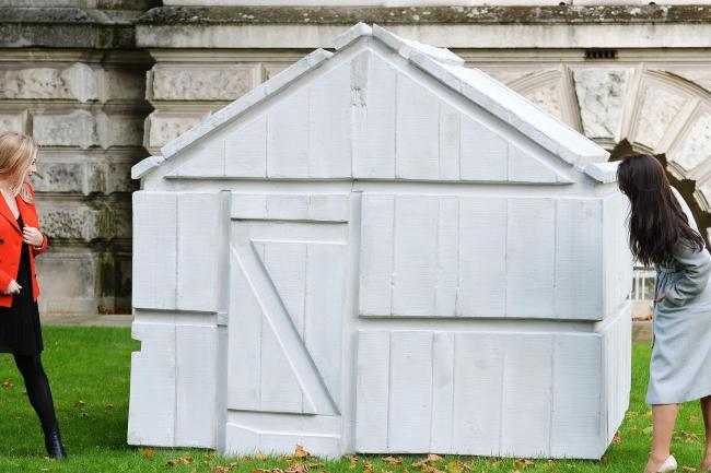 Rachel Whiteread Says Her Chicken Shed Sculpture Has Poetry
