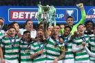 Celtic beat Motherwell in the Betfred Cup final (Andrew Milligan/PA)