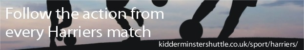 Kidderminster Shuttle: Harriers live match coverage banner