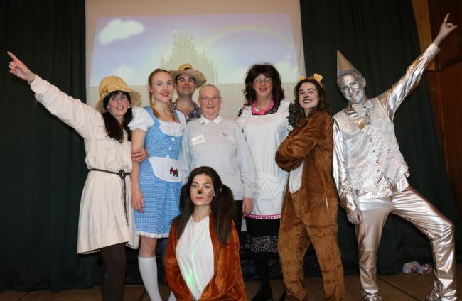 Staff from Clent Hills Vets took to the stage in their charity show of The Wizard of Oz