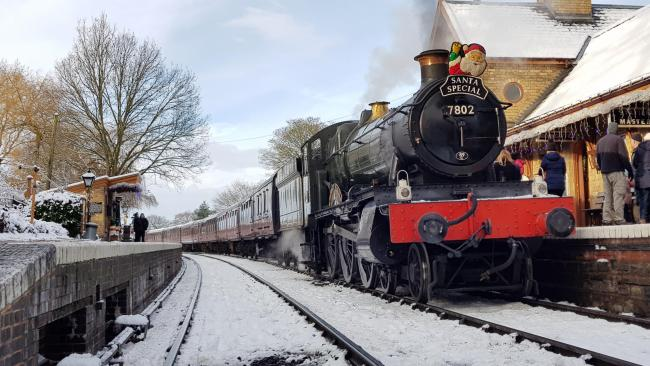 Severn Valley Railway adds extra Santa services after snow cancellations