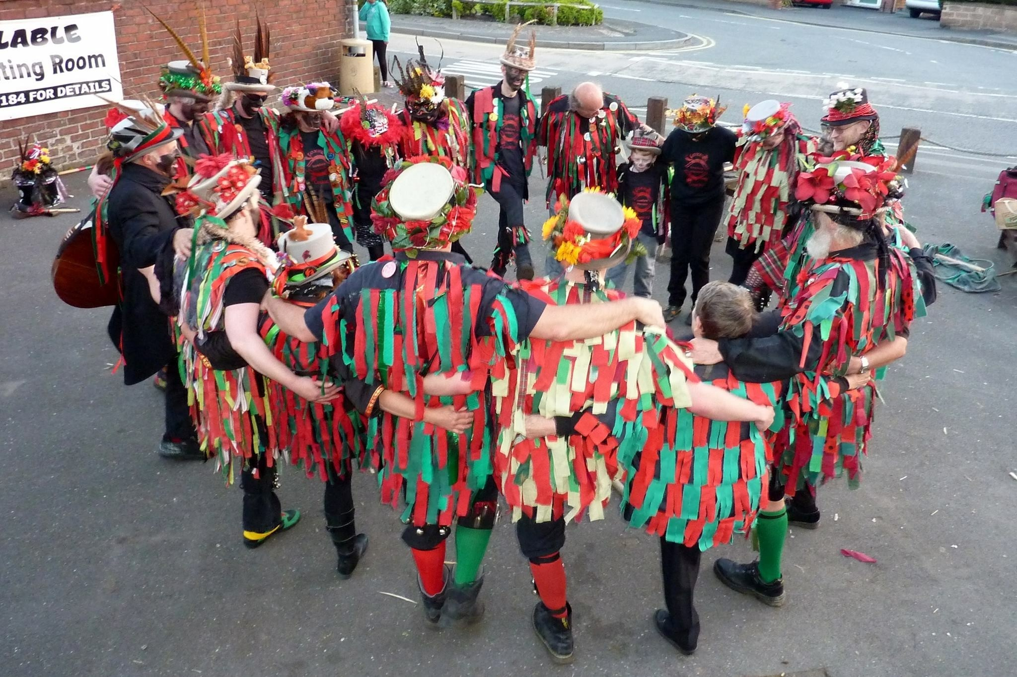 Fox's Morris will perform in Wolverley and Cookley pubs
