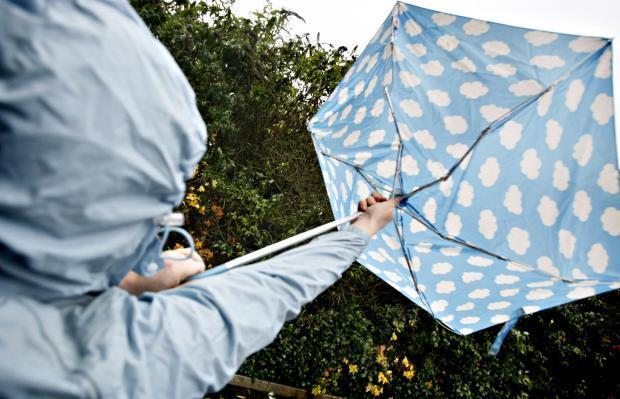 Weather: Wet and windy