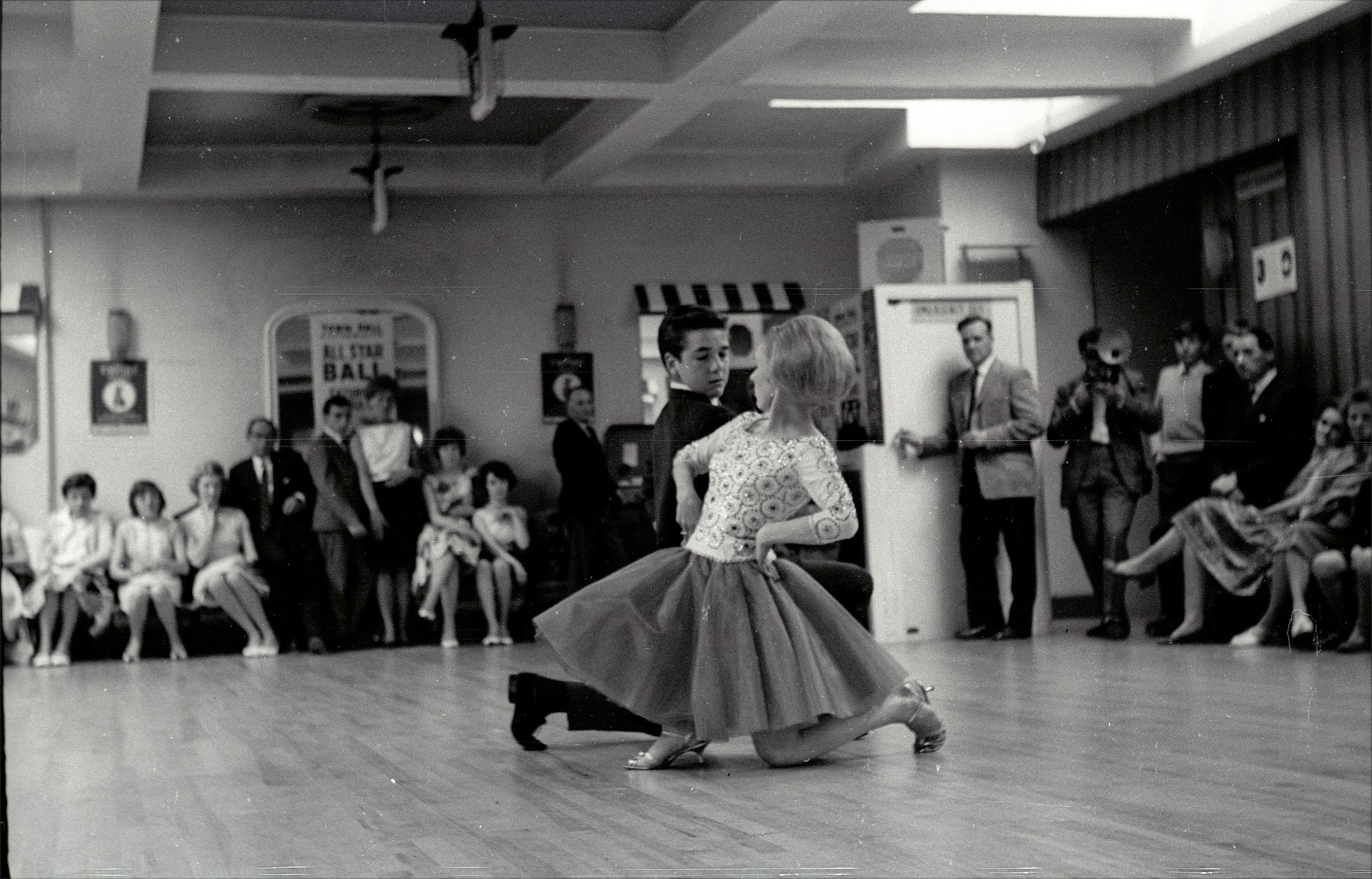 The Dancing Club is based on the story of Frank and Wynn Freeman. PIC: Colin Hill