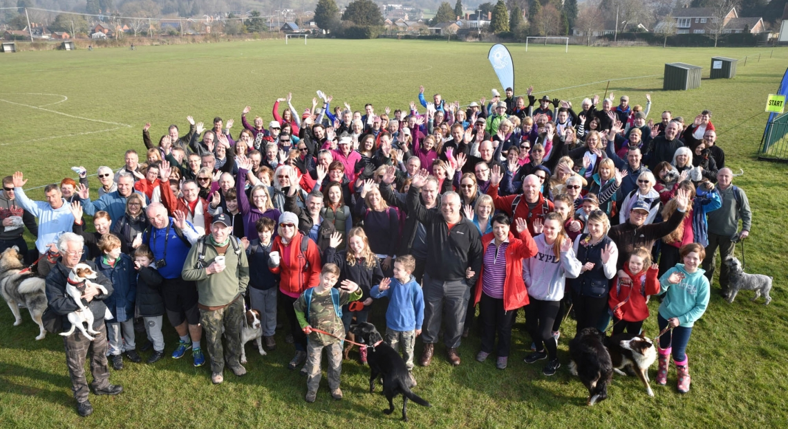 St Michael's Hospice Big Spring Walk