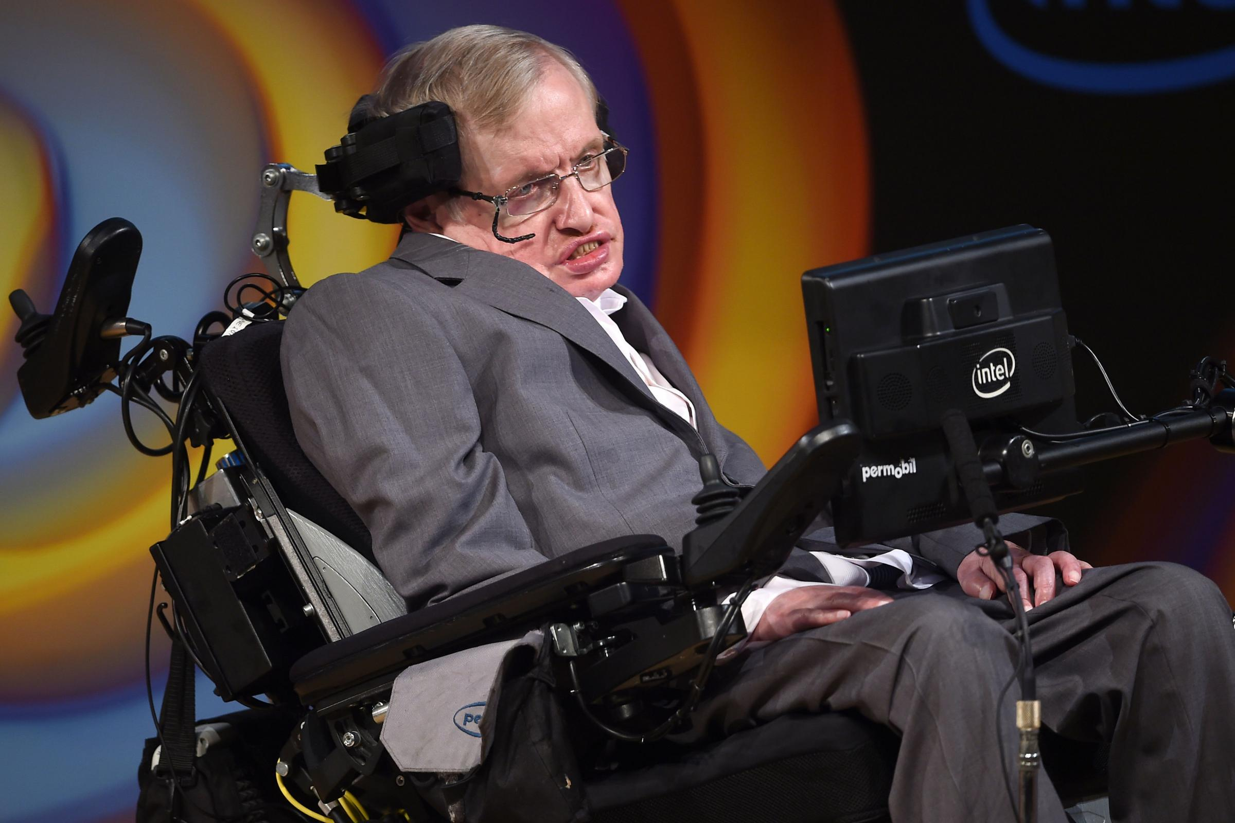 Stephen Hawking will be joined by the original cast in the six-episode series (Joe Giddens/PA)