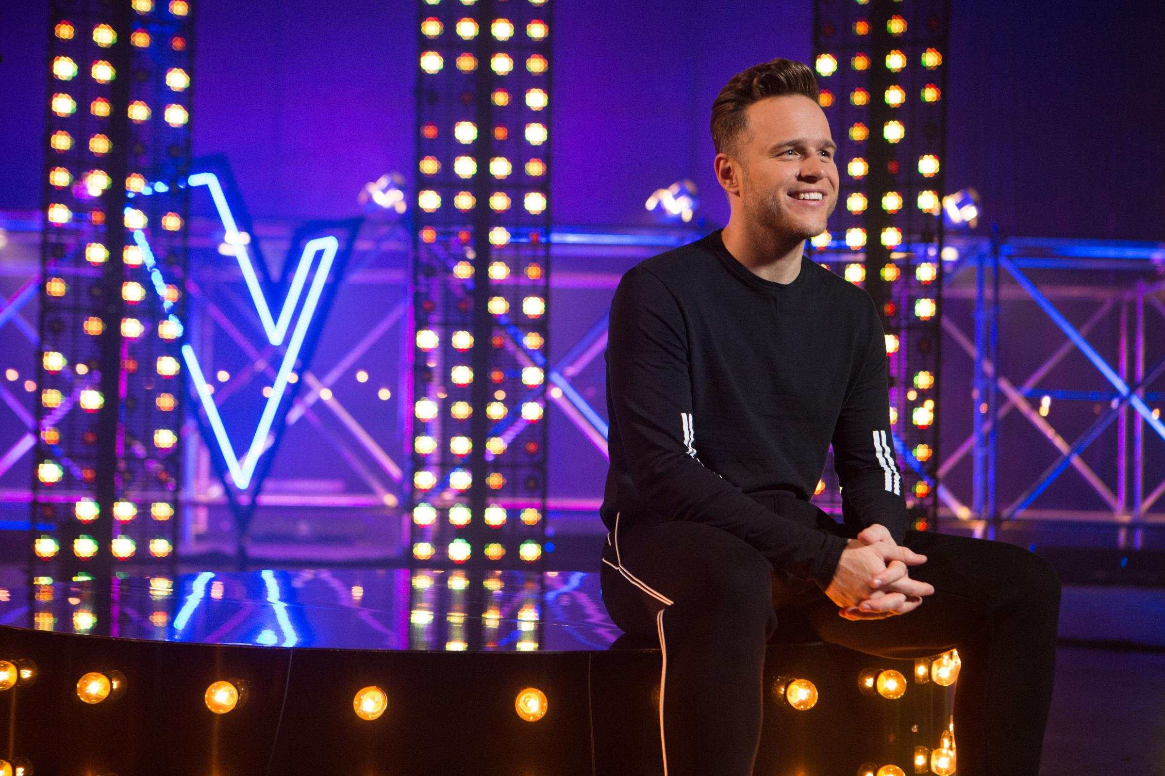 Olly Murs on The Voice UK (ITV)