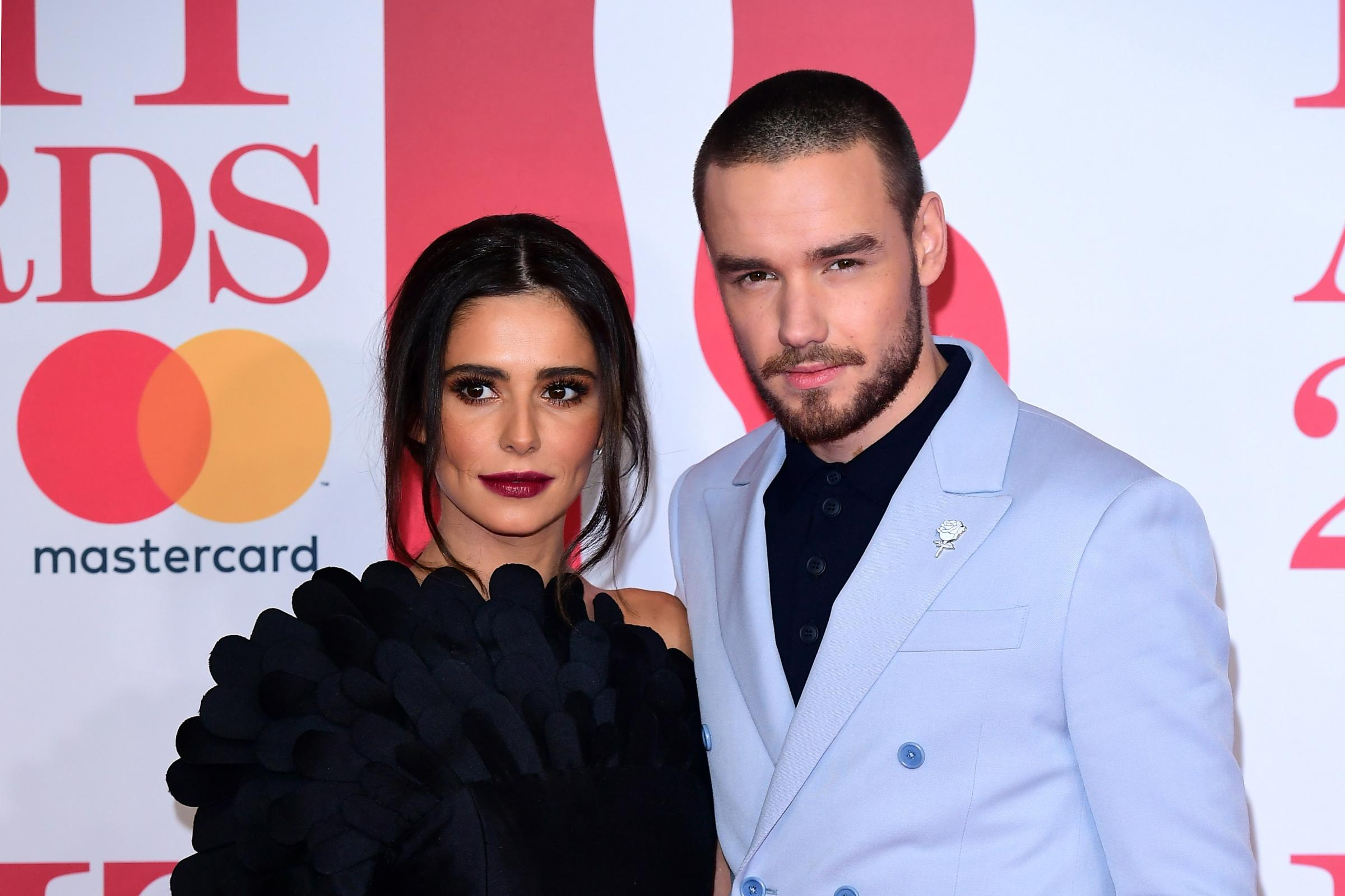 Cheryl and Liam Payne arrive together at the Brits amid split rumours (Ian West/PA)