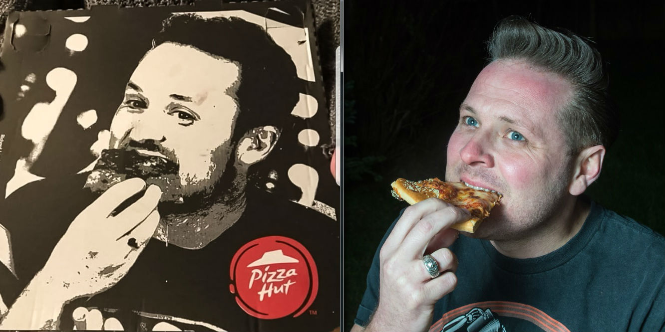 Nick Richardson Is Convinced Pizza Hut Took Picture Of Him