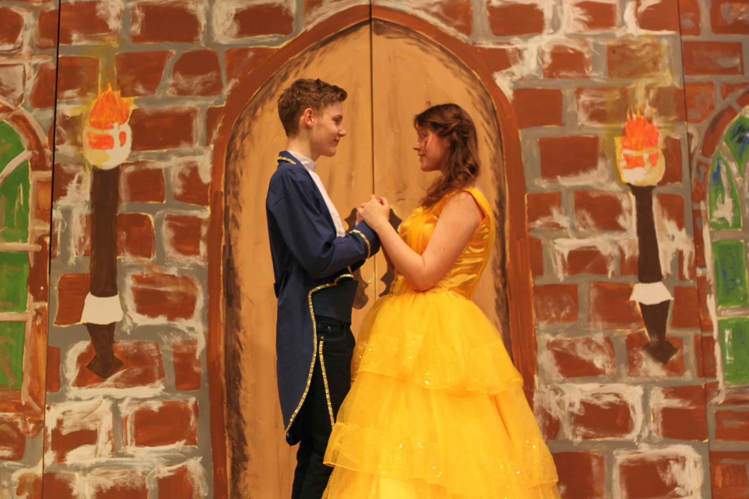 John Watkins (15) and Jasmine Morris (15) star in Beauty & The Beast