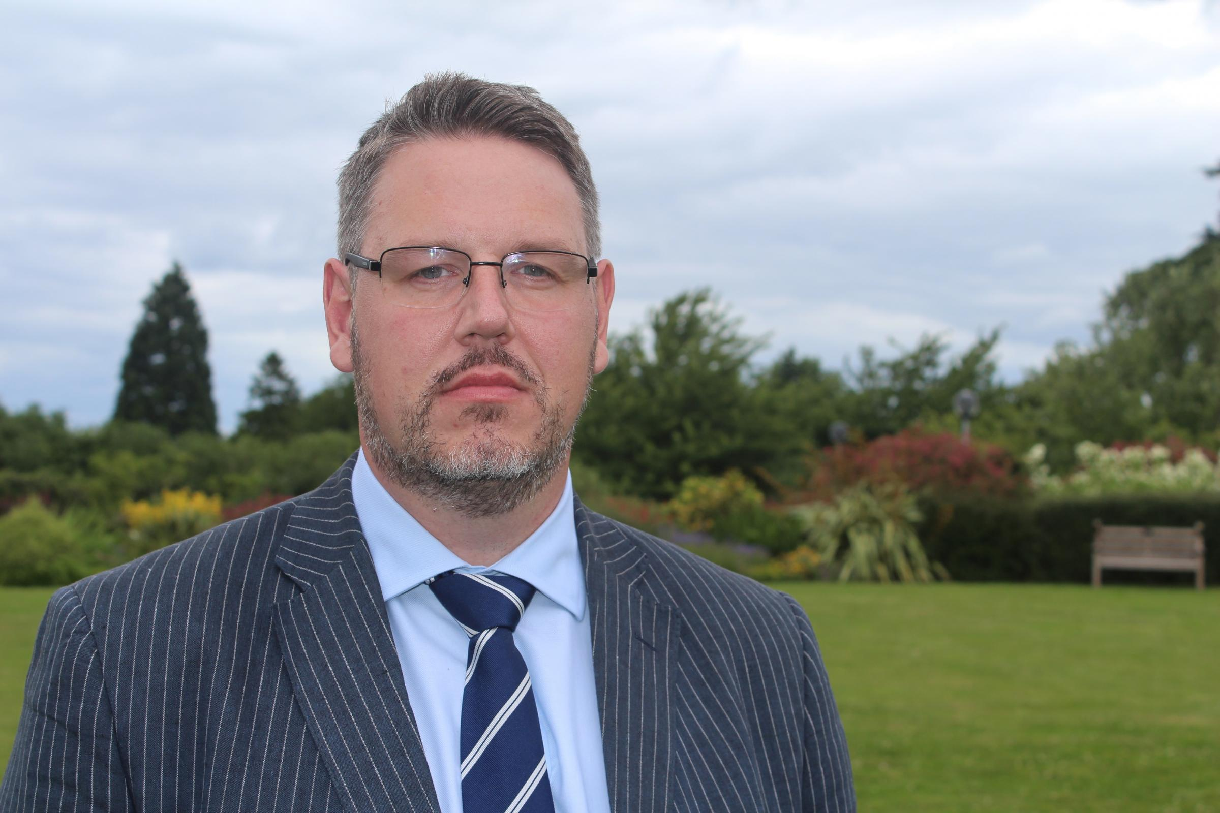 West Mercia Police and Crime Commissioner John Campion has announced plans to split from Warwickshire Police