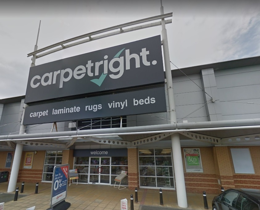 Carpetright at Crossley Retail Park. PIC: Google Maps