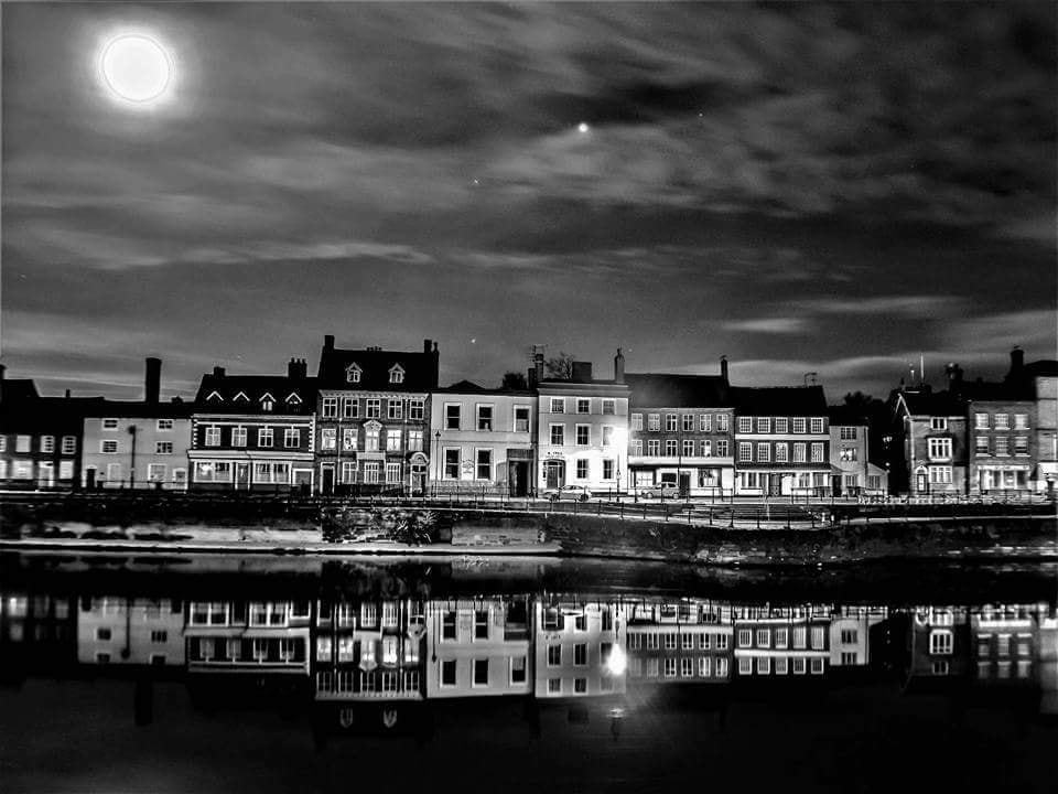 The winning entry: Bewdley at night by Joe Moule