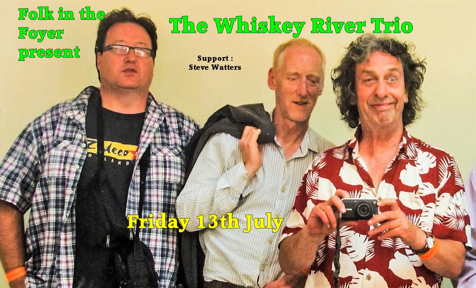 Folk in the Foyer: Whisky River Trio