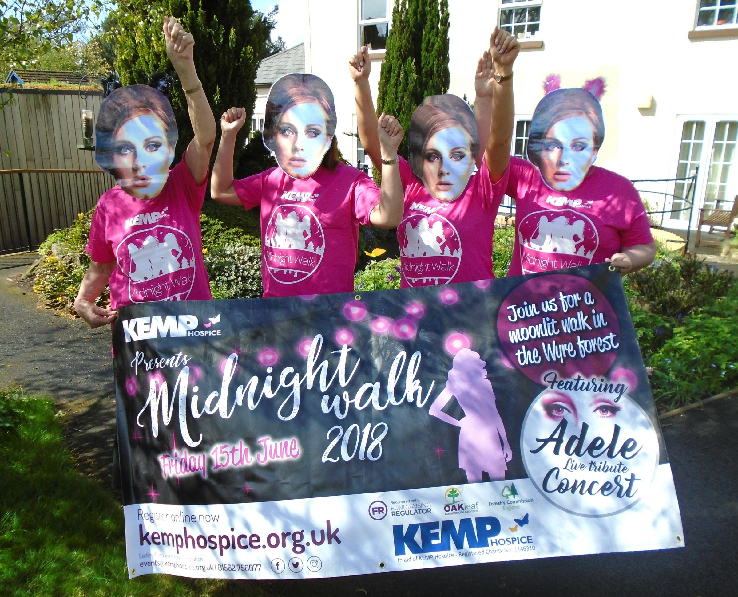 Kemp Hospice is gearing up for its Midnight Walk
