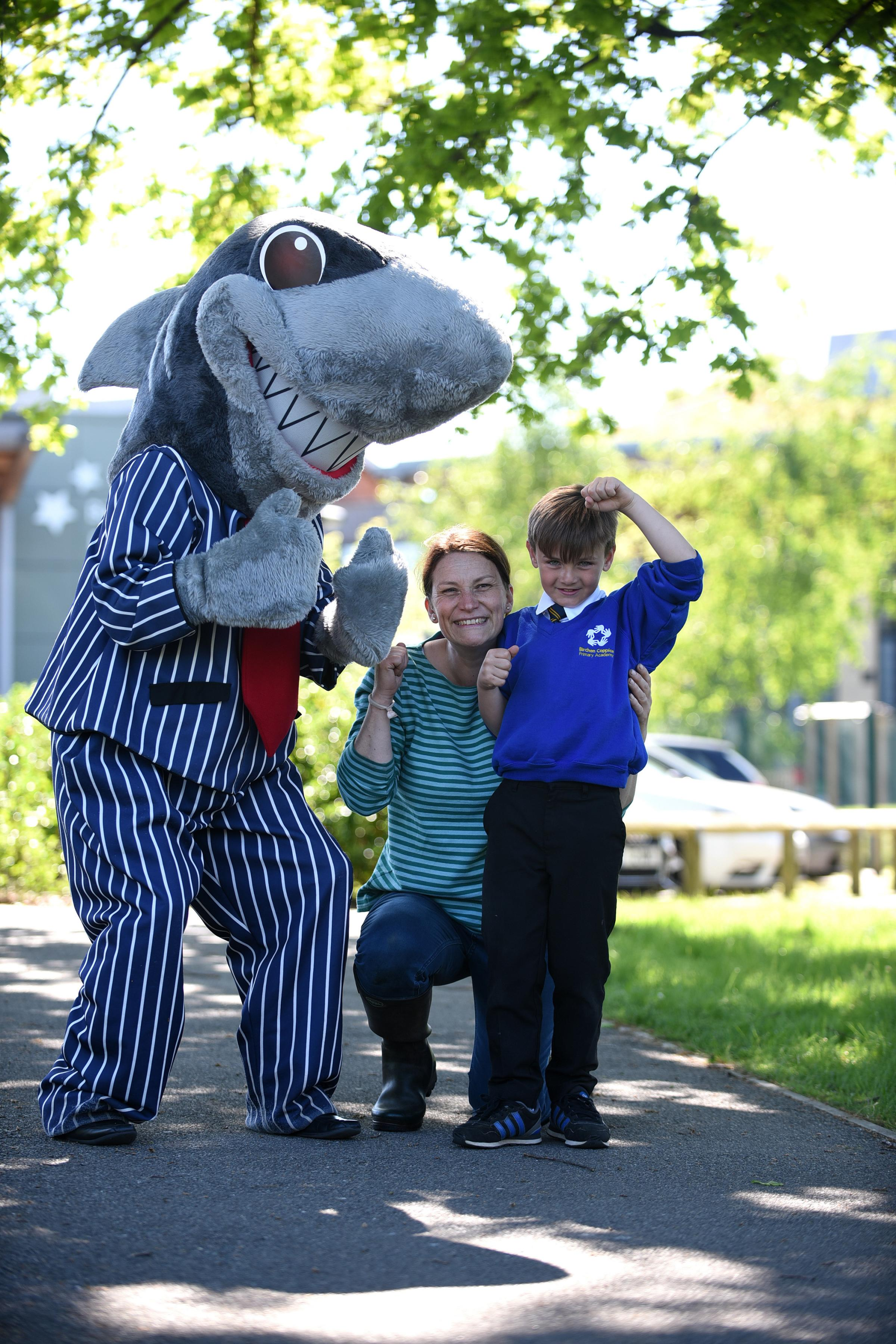 Sid the Shark at Birchen Coppice Primary Academy