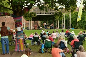 Sunday concerts will take place across three Wyre Forest parks