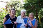 Tegan Forsyth, Ruth Didlick,  and Tracey Whitefoot. Picture: Friends of Offmore
