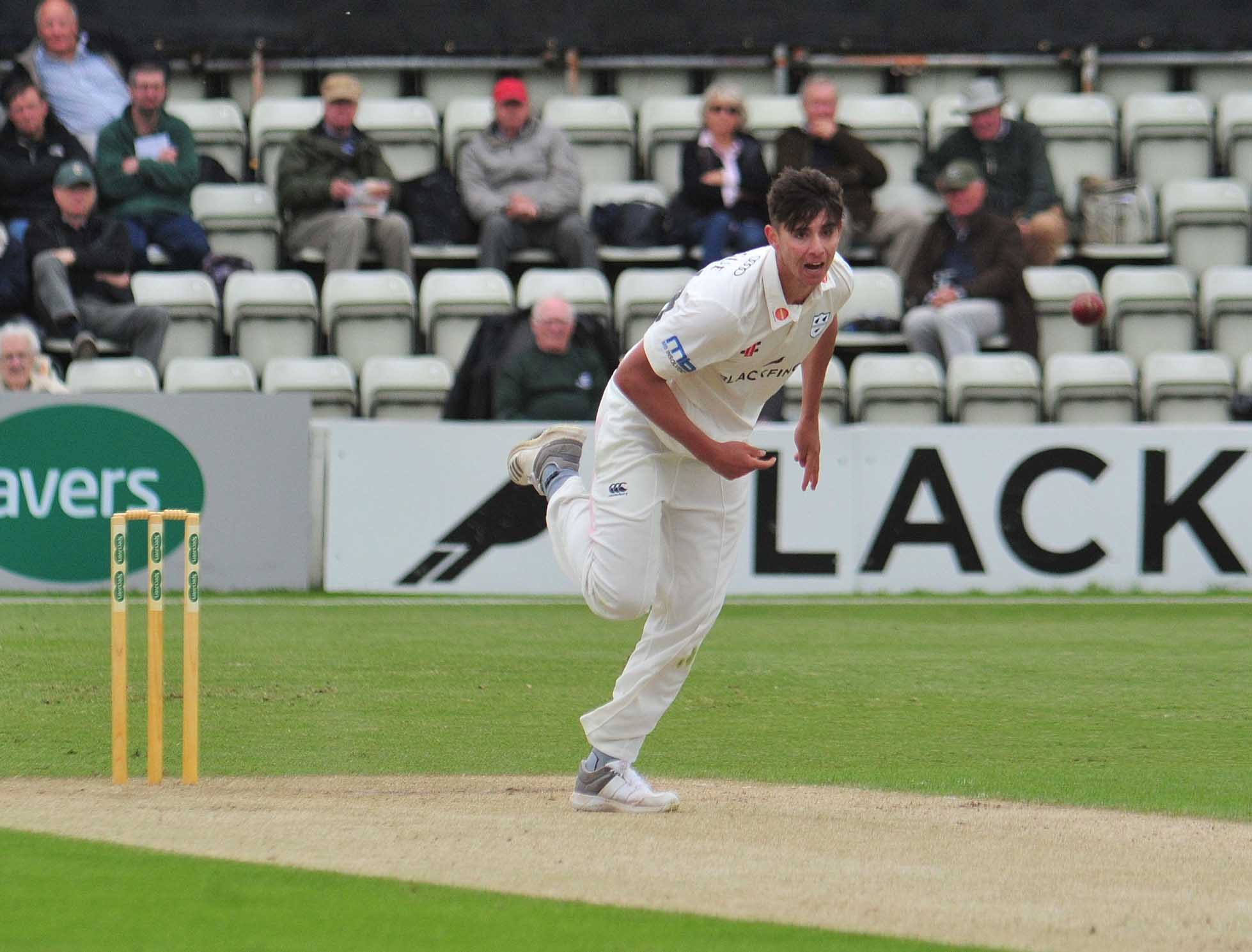 Worcestershire bowler Josh Tongue wants to take at least 50 County Championship wickets this summer. Picture: JONATHAN BARRY