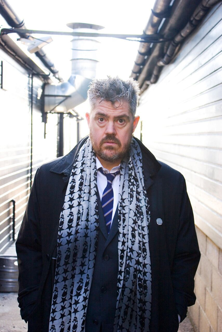 TV funny man Phil Jupitus