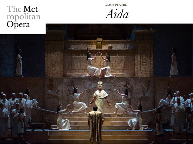 Live from New York Met: AIDA