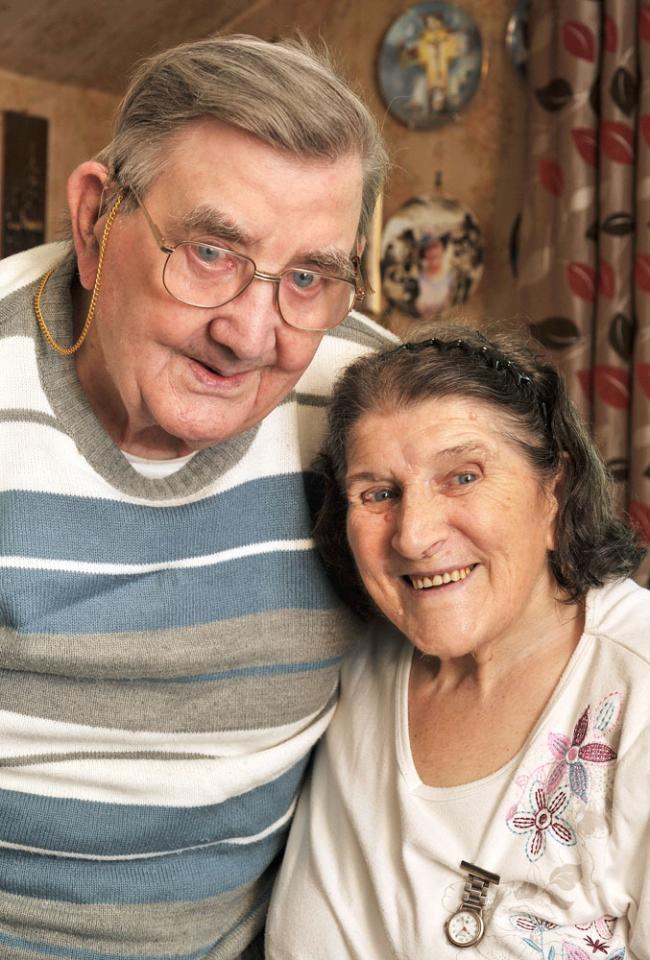 Kidderminster lovebirds mark milestone anniversary | Kidderminster ...