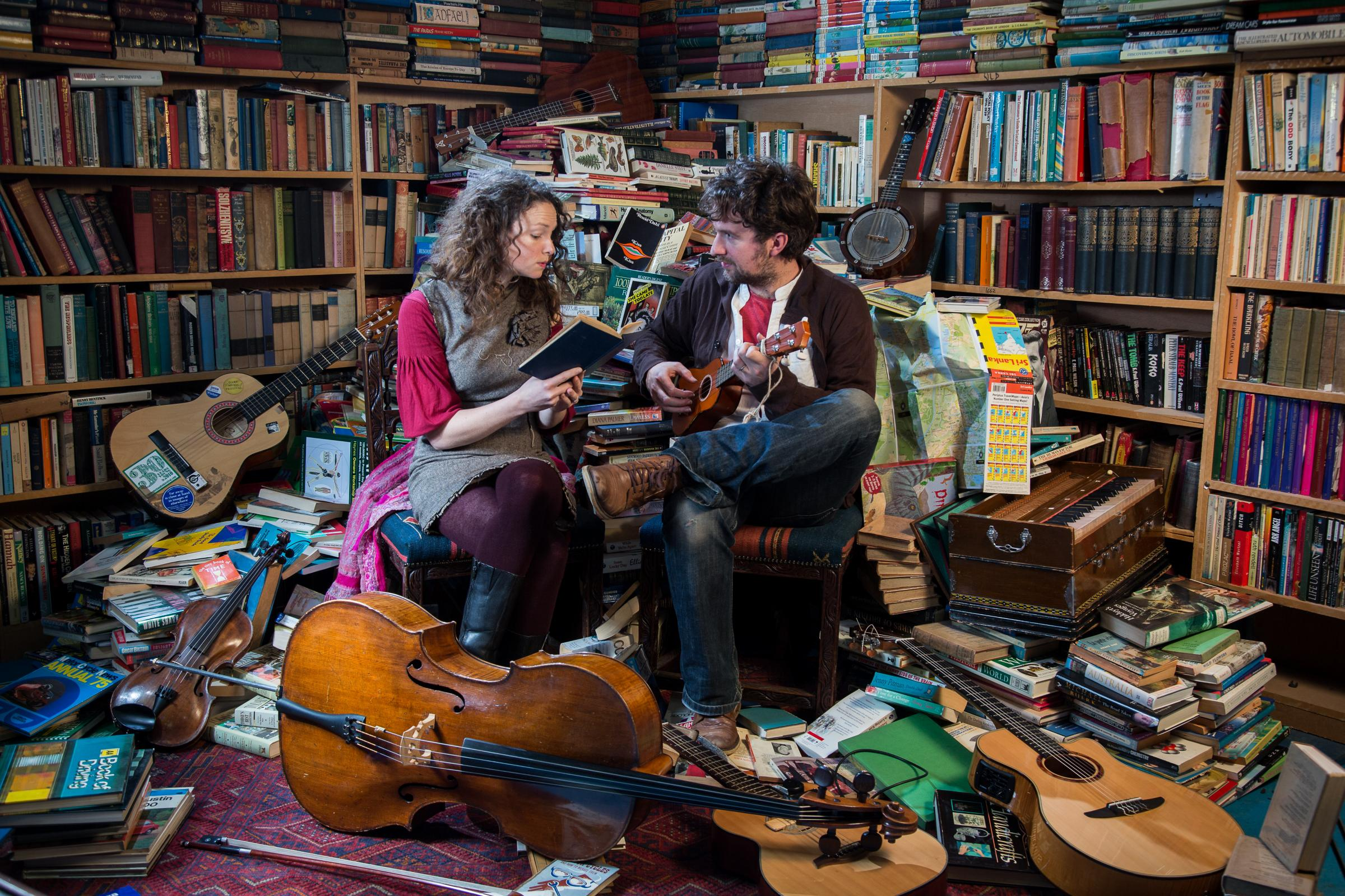 The Bookshop Band PIC: Owen Benson