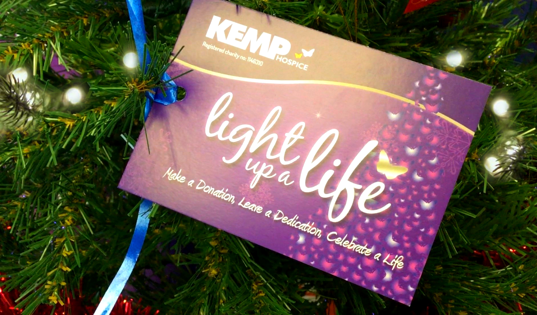 Kemp Hospice is launching its 25th Light up a Life campaign