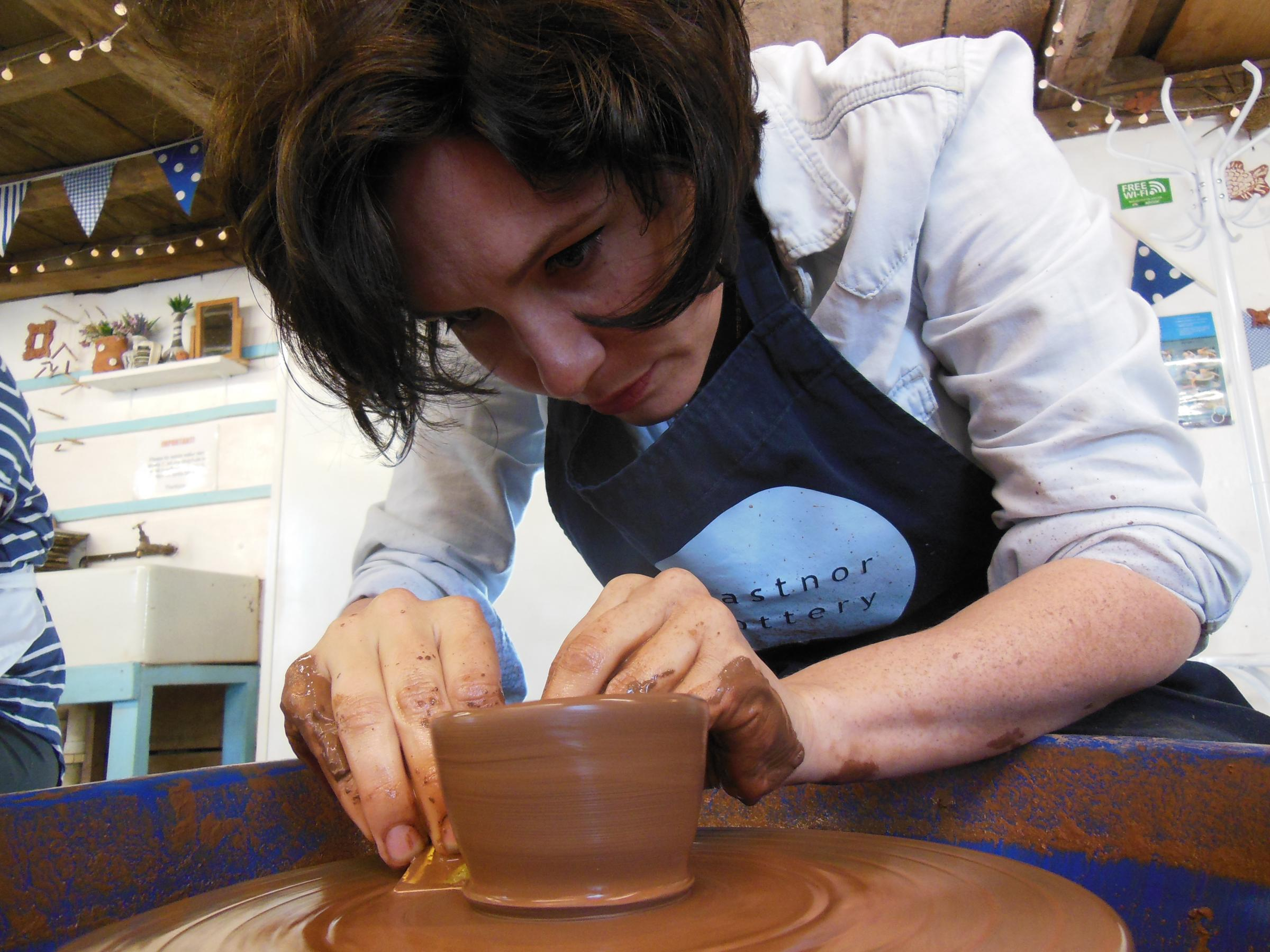 Potter's wheel one day course - Sat 13 Apr