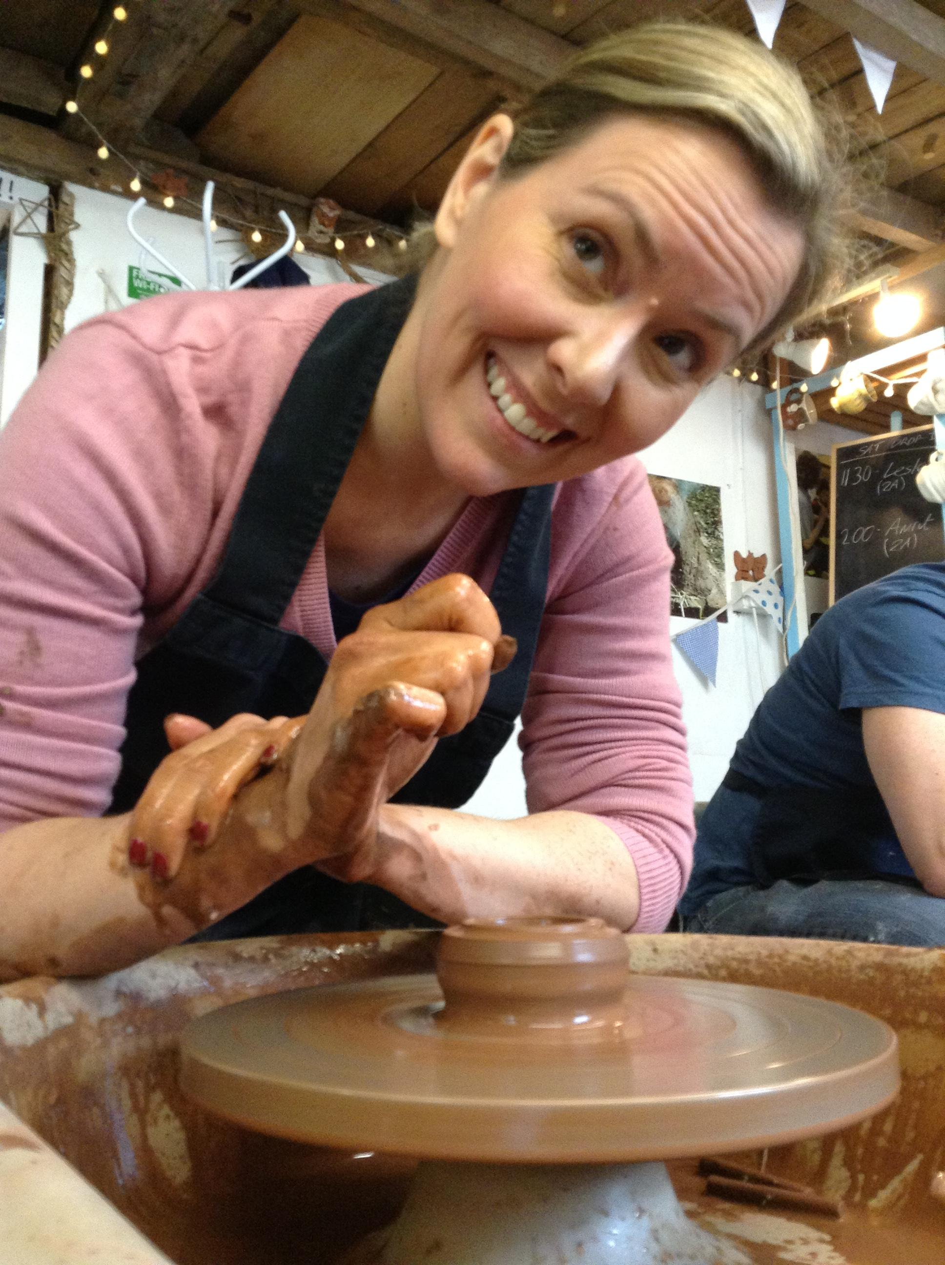 Potter's wheel one day course - Sat 11 May