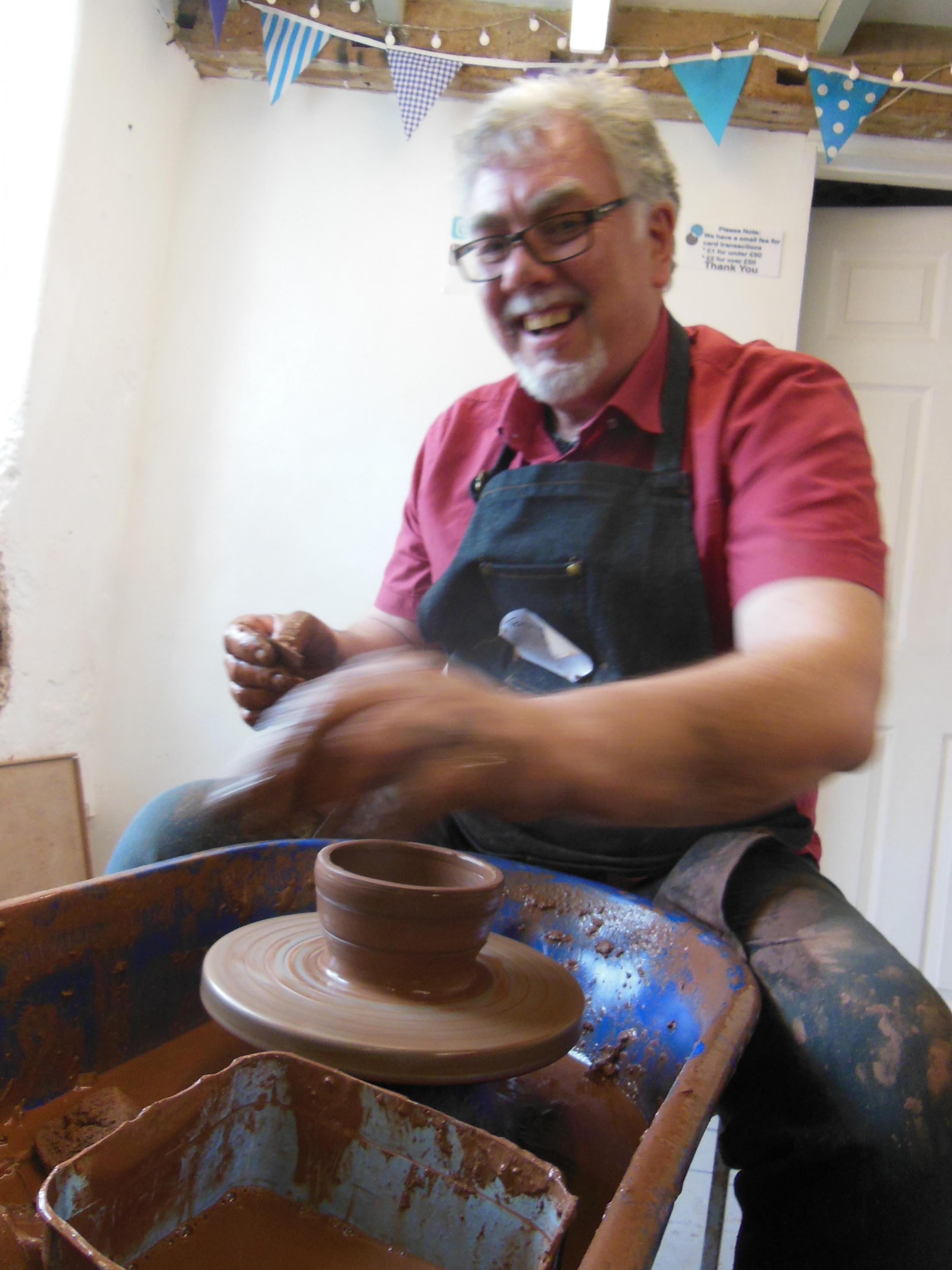 Potter's wheel one day course - Sat 7 Dec