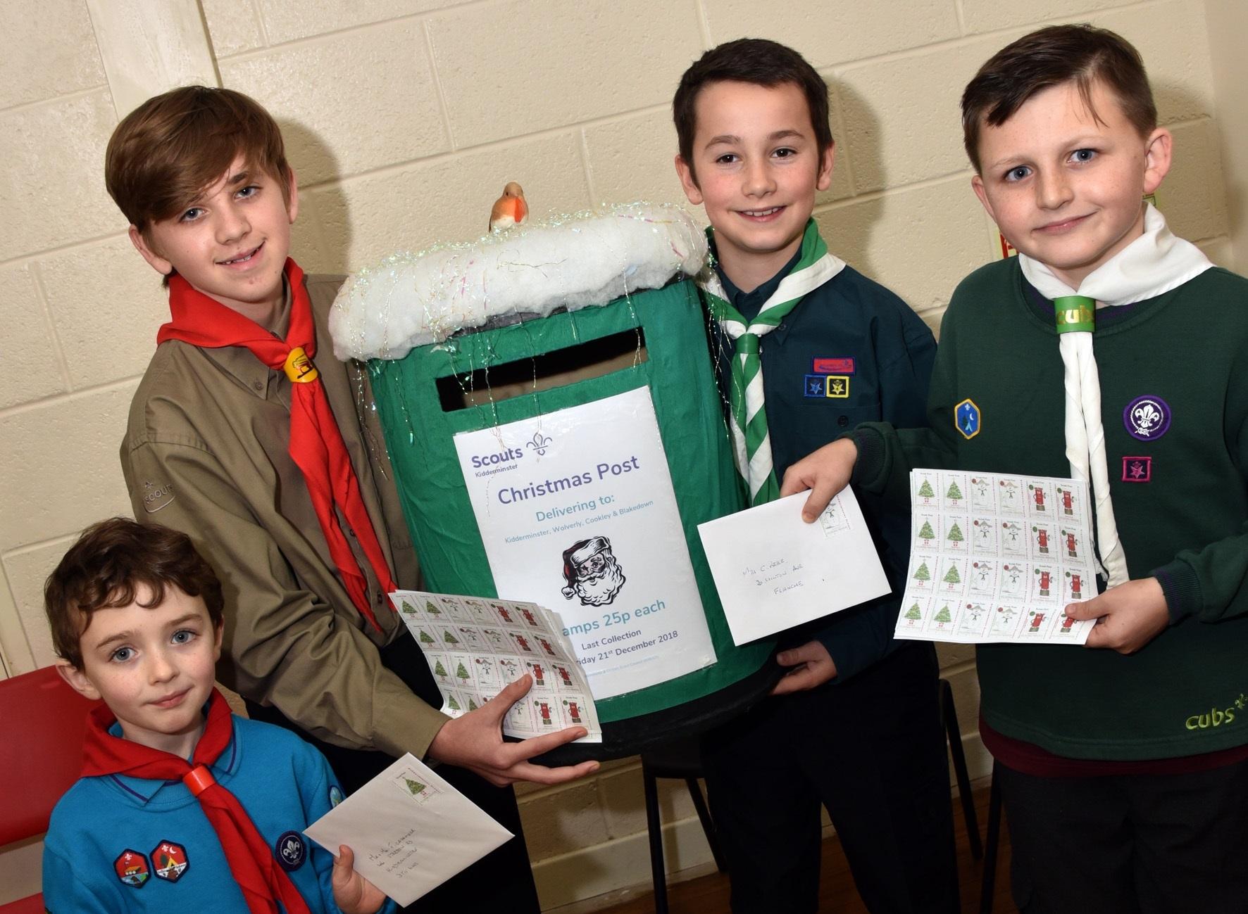 Last Week Of Kidderminster Scouts Christmas Post Kidderminster Shuttle