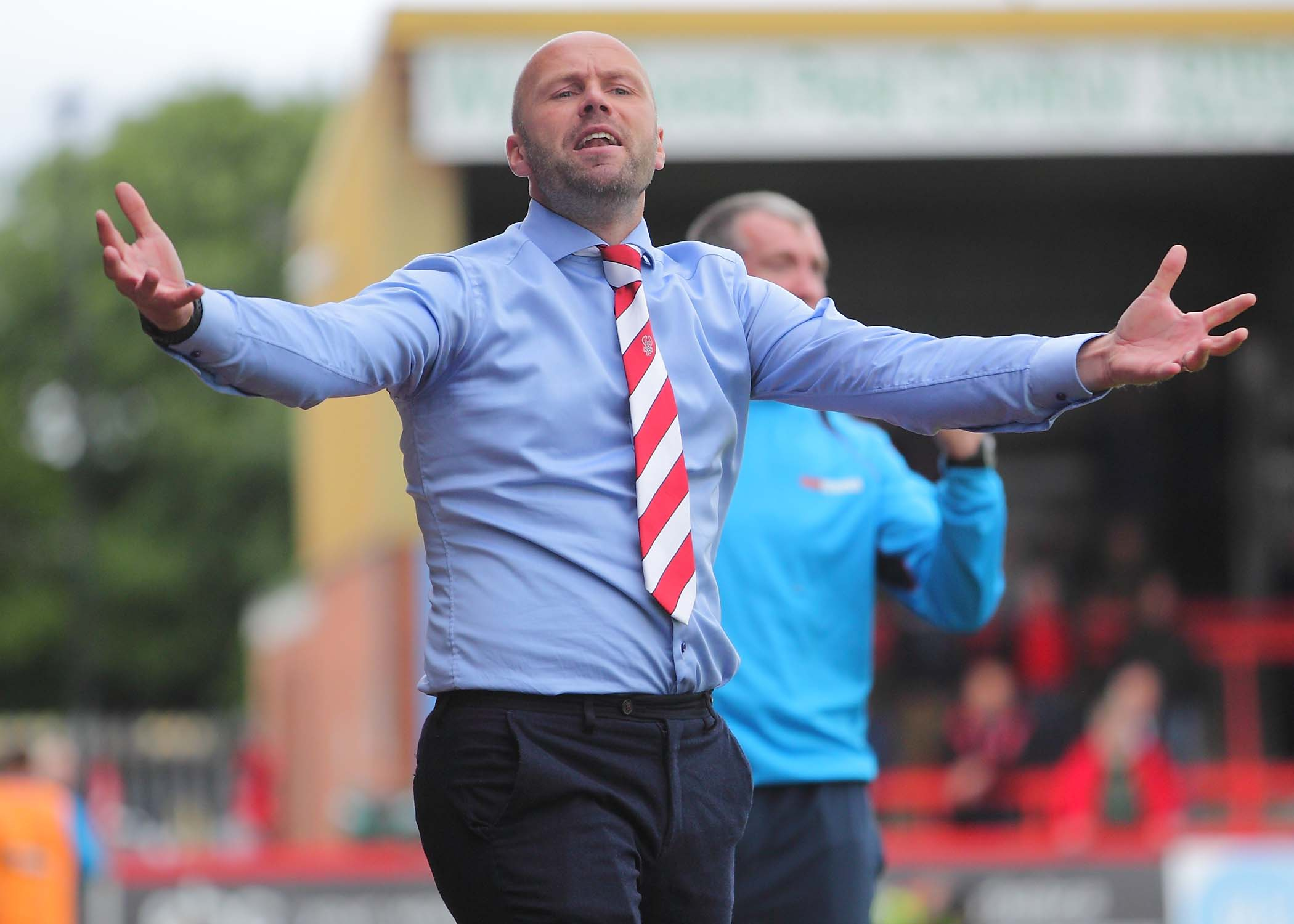 Harriers boss Neil MacFarlane