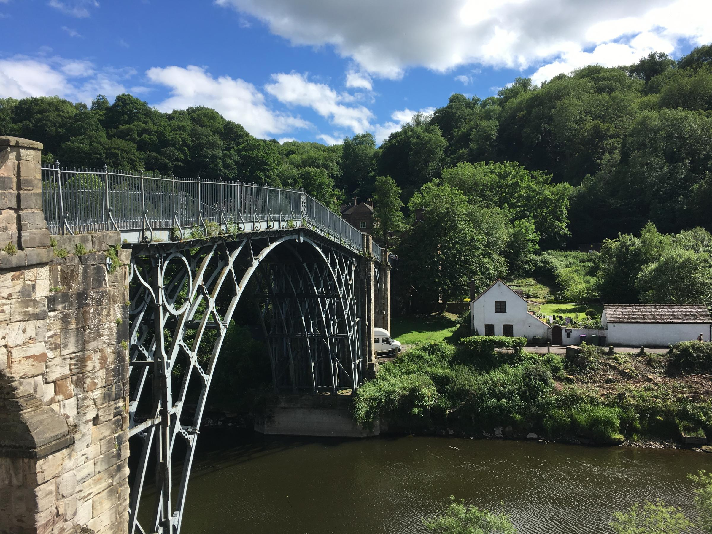 Ironbridge Gorge: Then and Now.  An Important World Heritage Site. by Richard Bifield