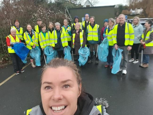 Bewdley litter pick event