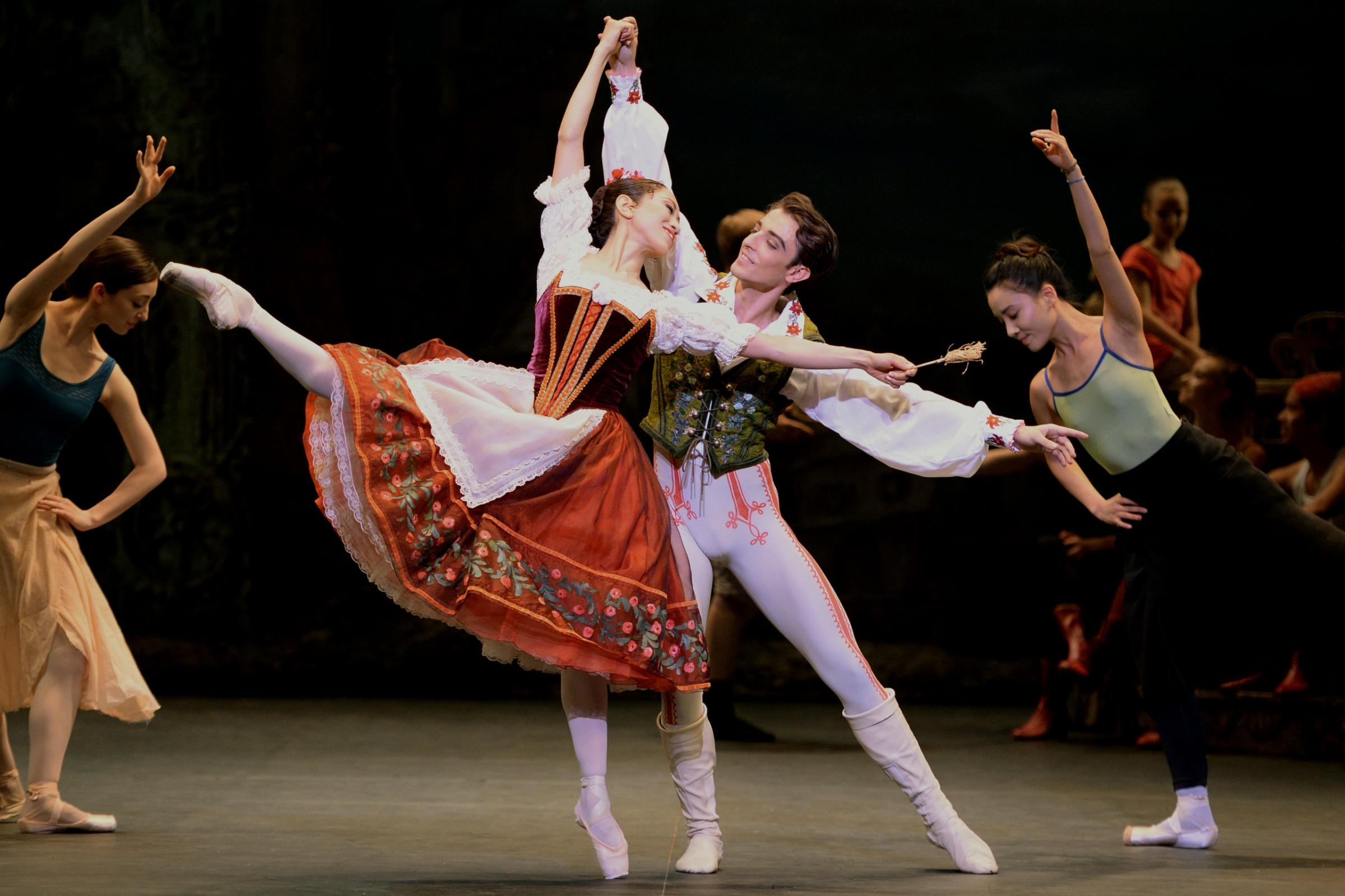 ENO Coppelia production